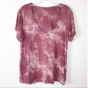 American Eagle Soft & Sexy Tie Dye Tee-Shirt S